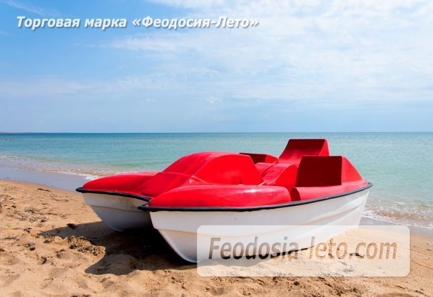 Пляж Песчанка в посёлке Приморский, Крым - фотография № 8