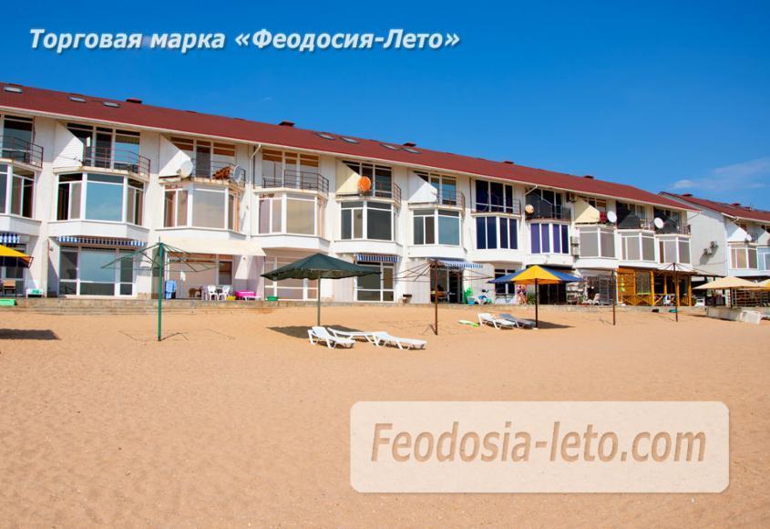 Феодосия п. Приморский пляж перед эллингами на Песчаной балке - фотография № 8