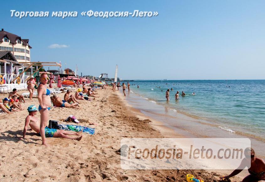 Пляжи Феодосии на Черноморской набережной - фотография № 9