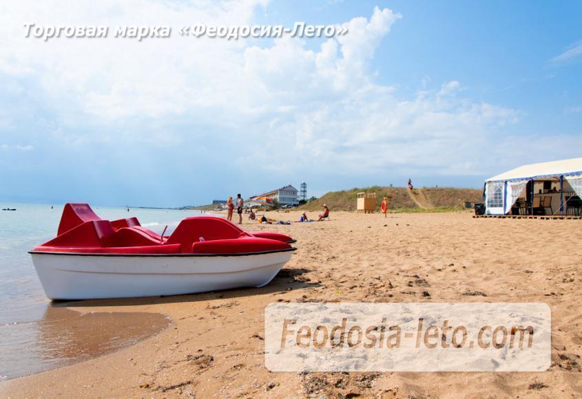 Пляж Песчанка в посёлке Приморский, Крым - фотография № 9
