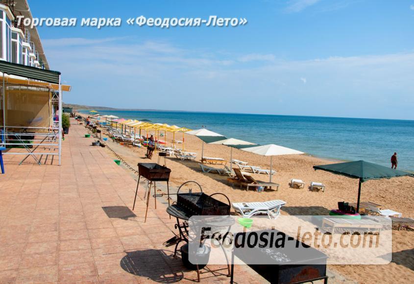 Феодосия п. Приморский пляж перед эллингами на Песчаной балке - фотография № 9