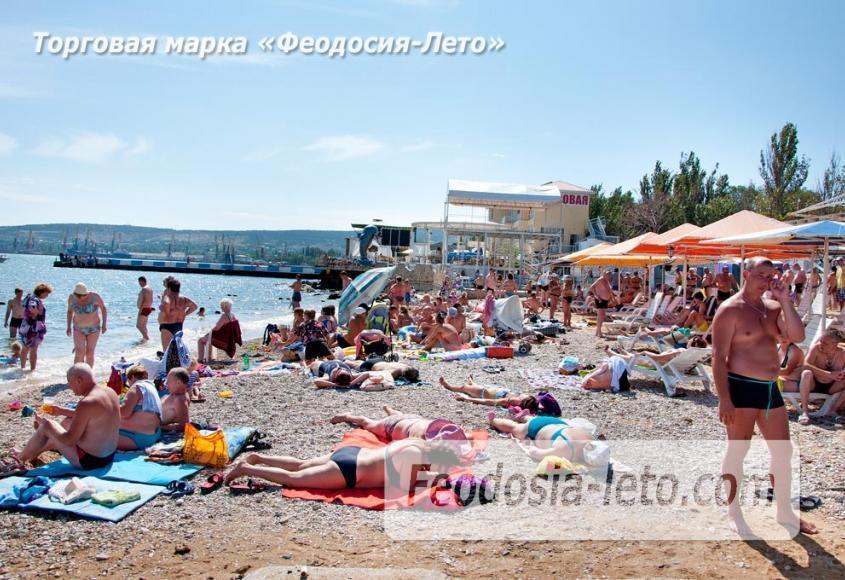 Детский пляж в Феодосии - фотография № 20