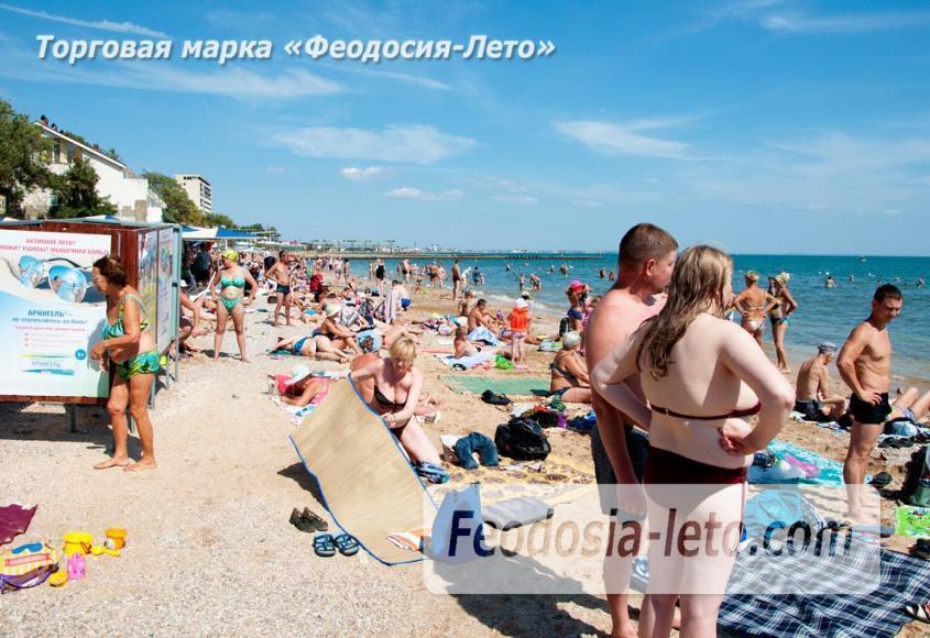 Детский пляж в Феодосии - фотография № 22