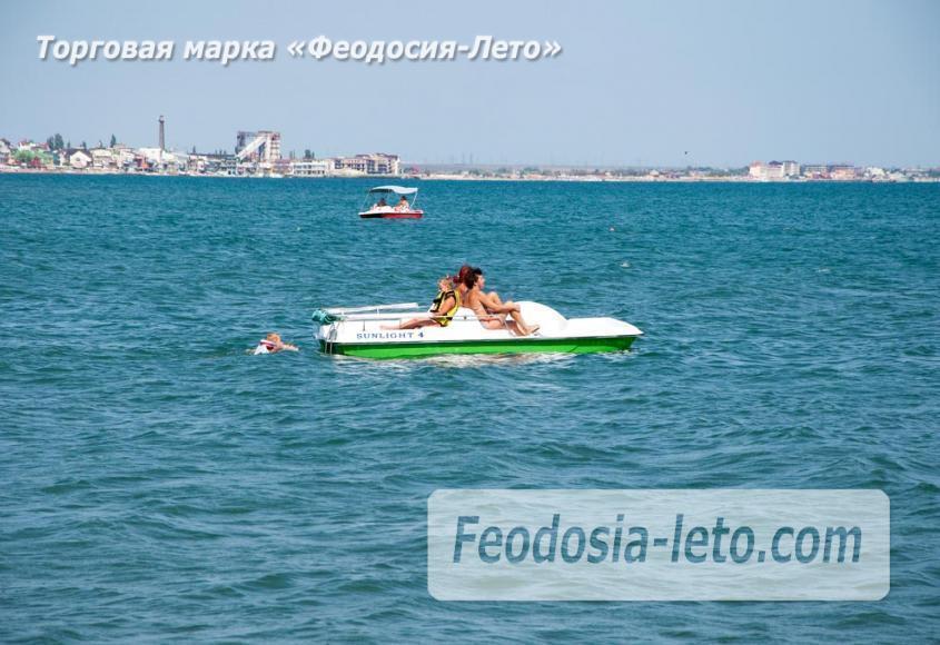 Детский пляж в Феодосии - фотография № 19