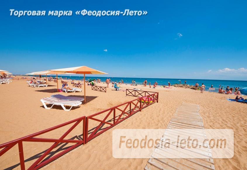 Пляж Алые паруса в Феодосии - фотография № 7