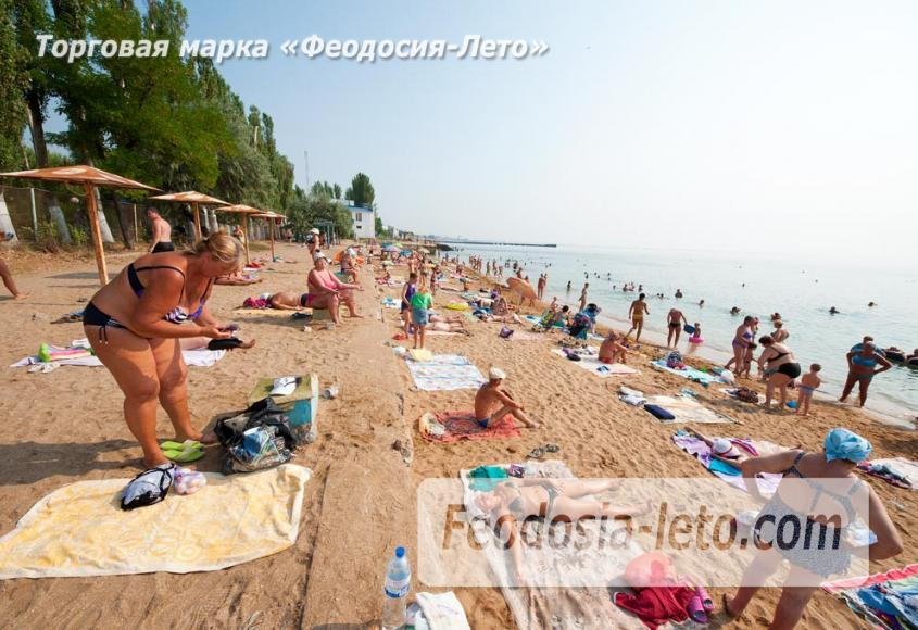 Пляж Динамо в Феодосии - фотография № 16