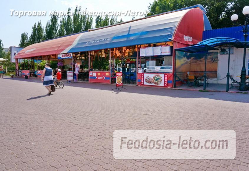 Центральный пляж Камешки в Феодосии - фотография № 15