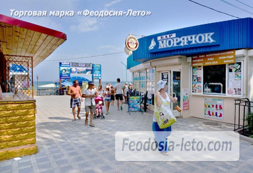 Центральный пляж Камешки в Феодосии - фотография № 17