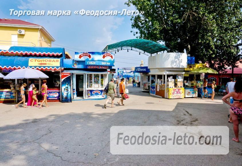 Центральный пляж Камешки в Феодосии - фотография № 20