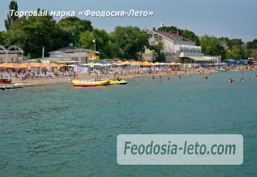 Первый городской пляж в Феодосии - фотография № 13