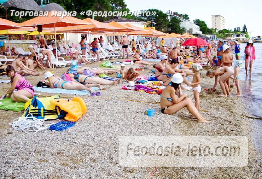 Первый городской пляж в Феодосии - фотография № 5