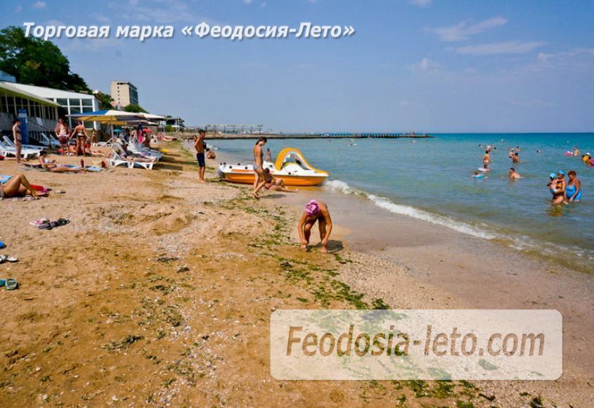 Первый городской пляж в Феодосии - фотография № 7