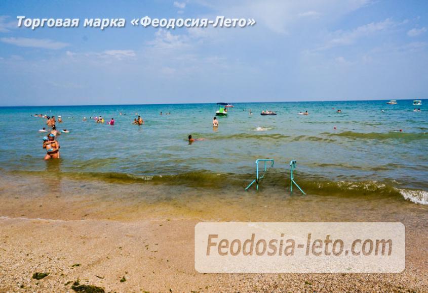 Первый городской пляж в Феодосии - фотография № 8