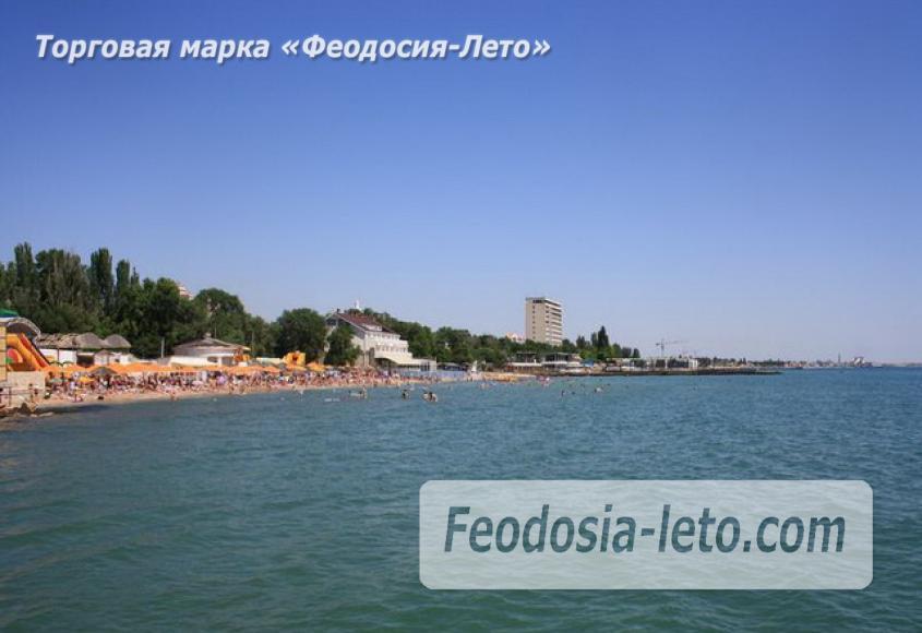 Первый городской пляж в Феодосии - фотография № 11