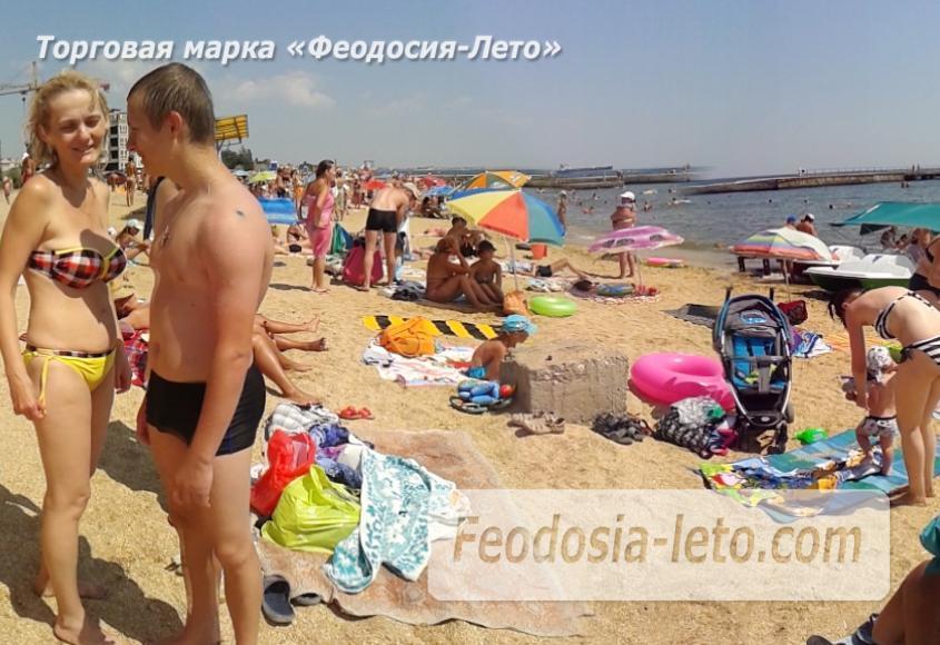 Пляж стадиона Динамо в Феодосии - фотография № 5