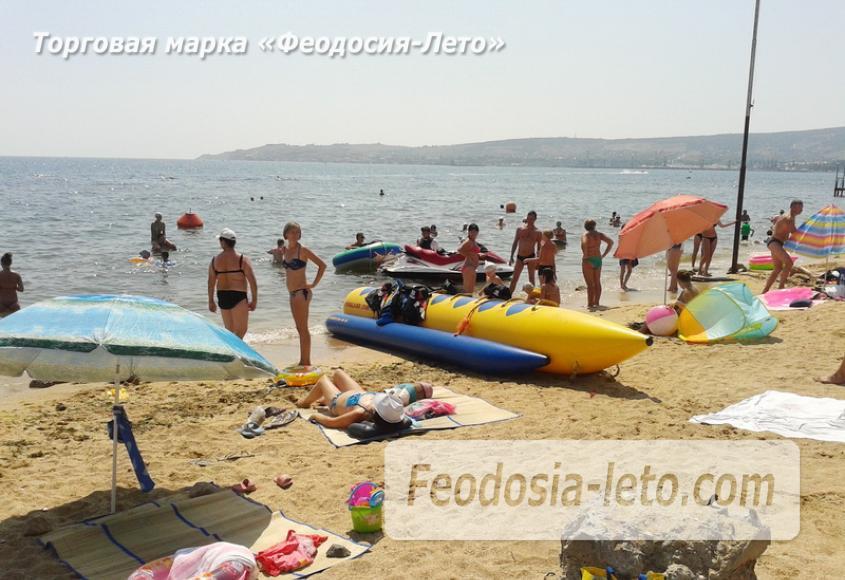 Пляж стадиона Динамо в Феодосии - фотография № 7