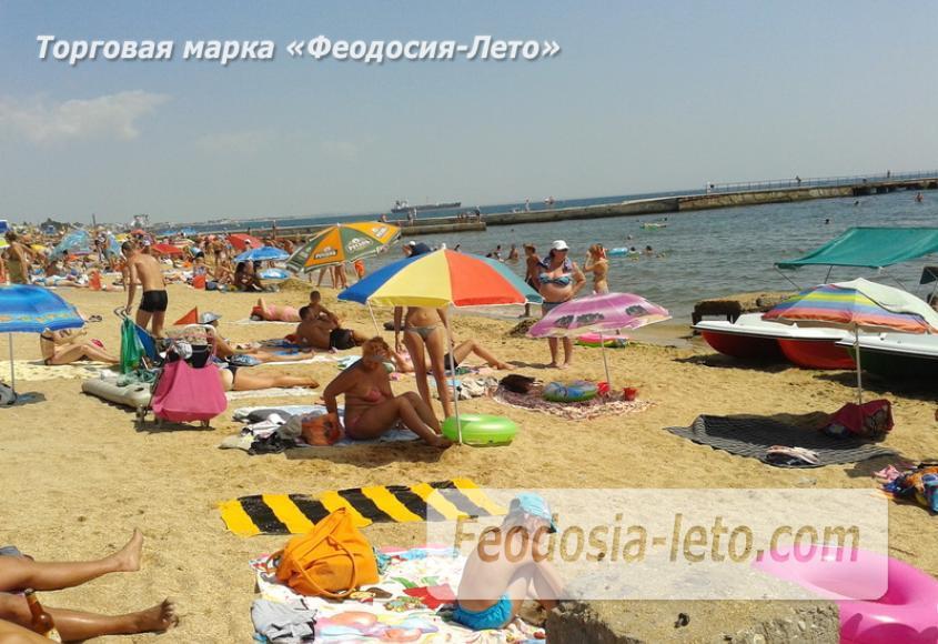 Пляж стадиона Динамо в Феодосии - фотография № 8