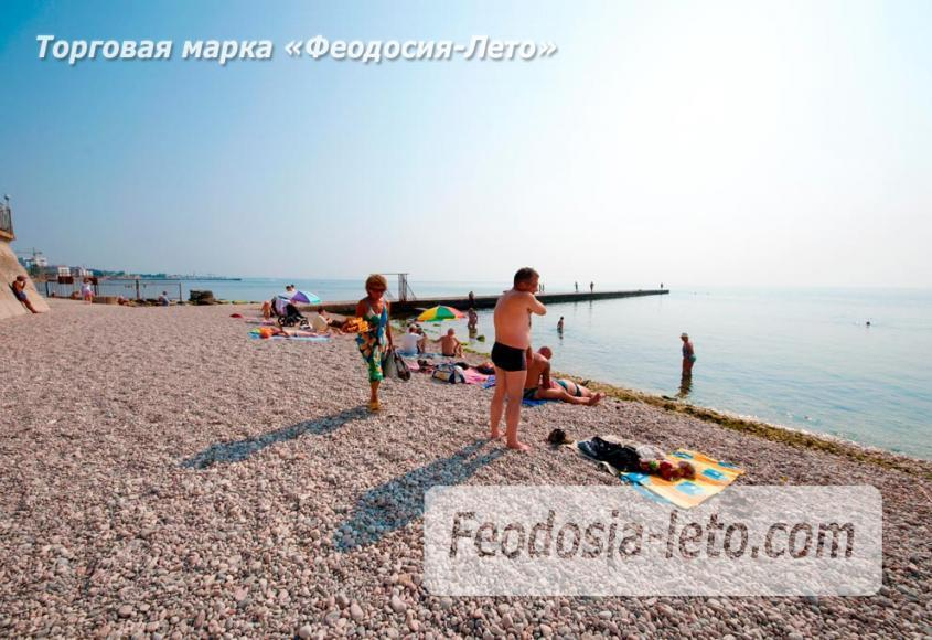 Пляж Ай-Петри, рядом с кафе Суворинские камни в Феодосии - фотография № 14
