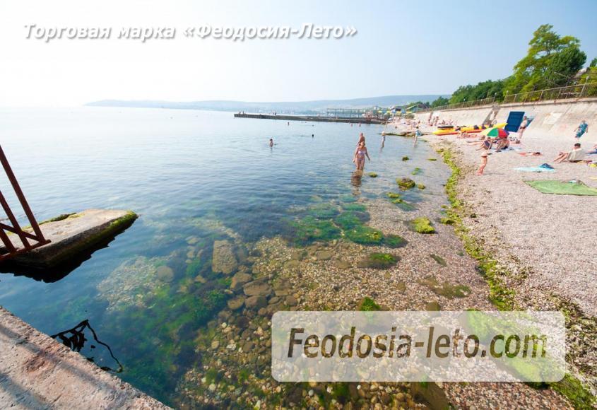 Пляж Ай-Петри, рядом с кафе Суворинские камни в Феодосии - фотография № 15