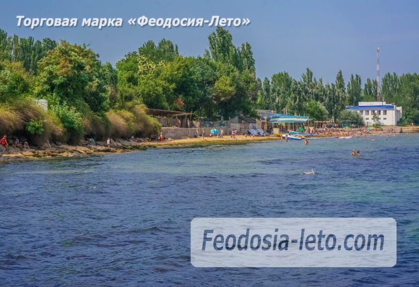 Пляж Ай-Петри, рядом с кафе Суворинские камни в Феодосии - фотография № 8