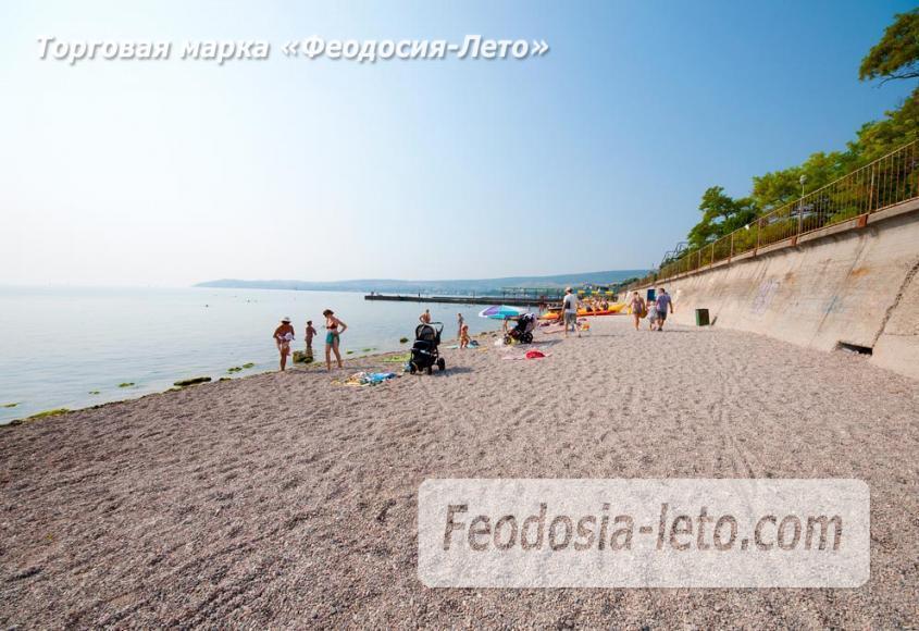 Пляж Ай-Петри, рядом с кафе Суворинские камни в Феодосии - фотография № 11