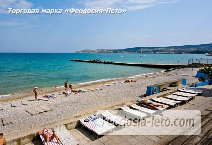 Пляж Министерства обороны в Феодосии - фотография № 6