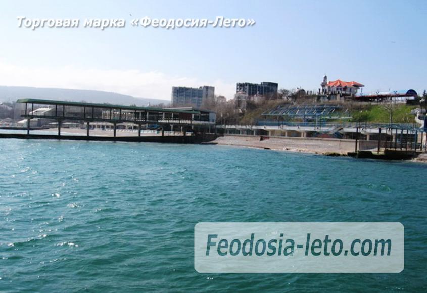 Пляж Министерства обороны в Феодосии - фотография № 9