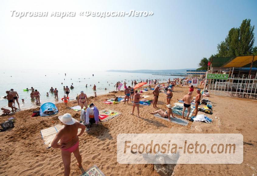 Пляж Лазурный берег (Динамо) в Феодосии - фотография № 3