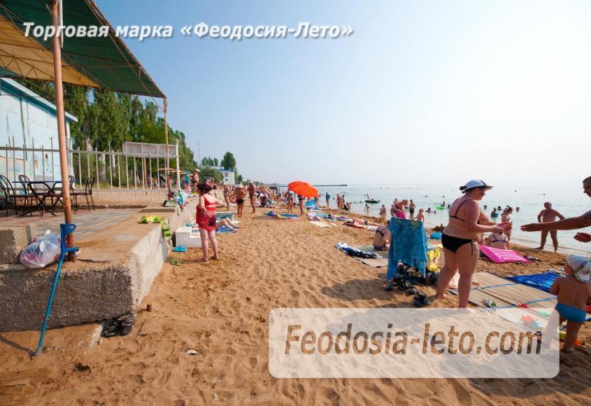Пляж Лазурный берег (Динамо) в Феодосии - фотография № 8