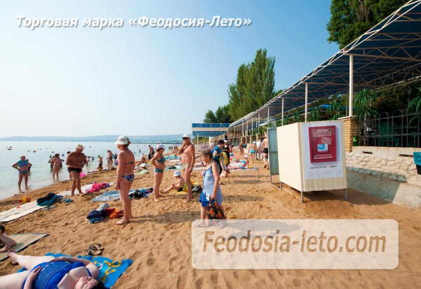 Пляж Лазурный берег (Динамо) в Феодосии - фотография № 9