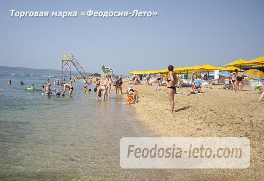 Золотой пляж в Феодосии - фотография № 15
