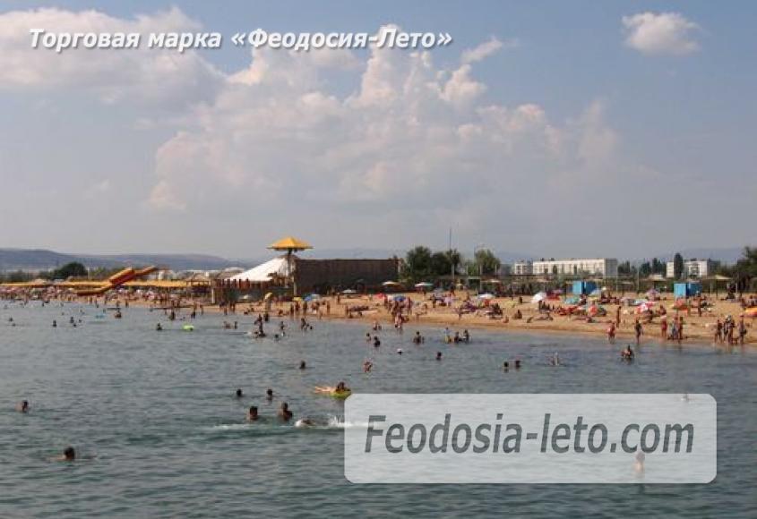 Золотой пляж в Феодосии - фотография № 8