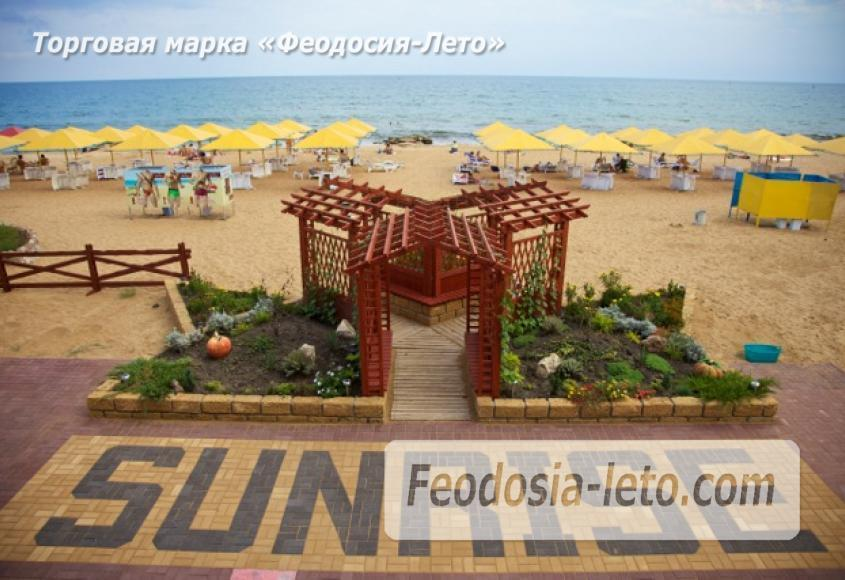 Пляж клуб 117 в Феодосии - фотография № 21