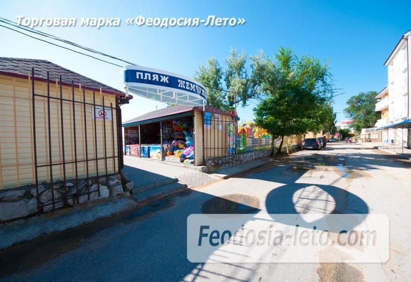Пляж Жемчужный в Феодосии - фотография № 13