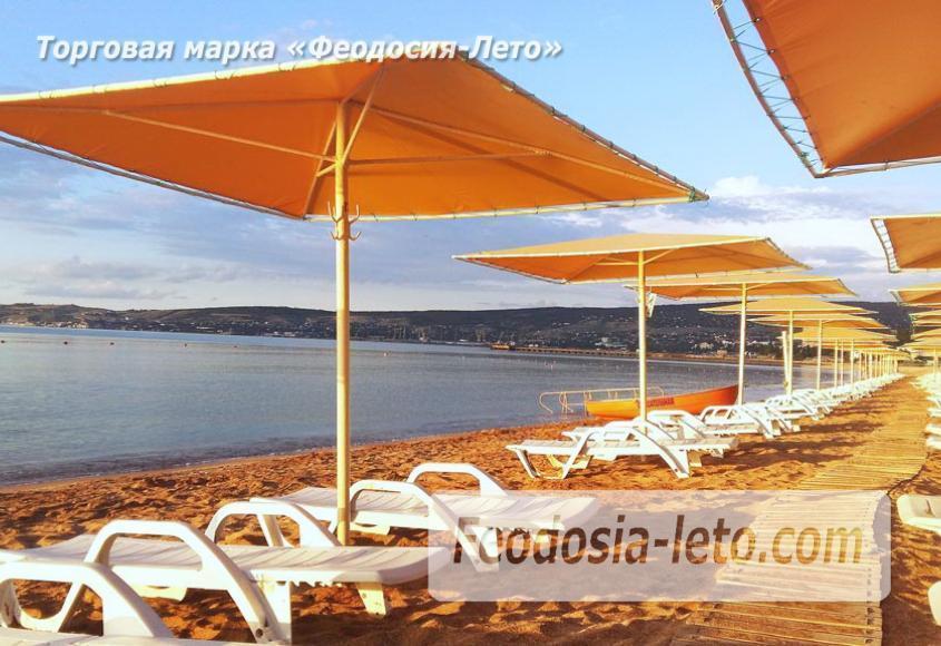 Пляж Жемчужный в Феодосии - фотография № 14