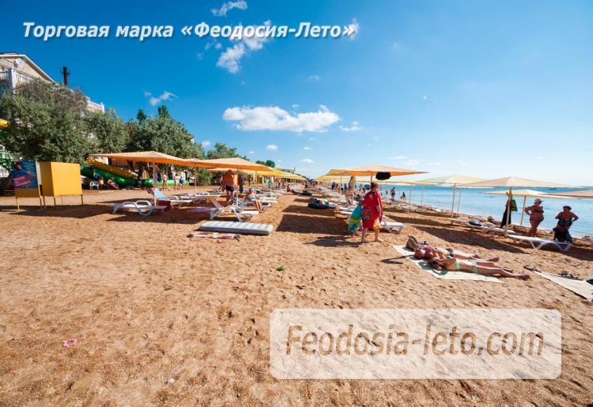 Пляж Жемчужный в Феодосии - фотография № 6