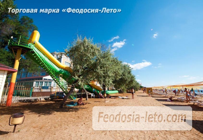 Пляж Жемчужный в Феодосии - фотография № 7