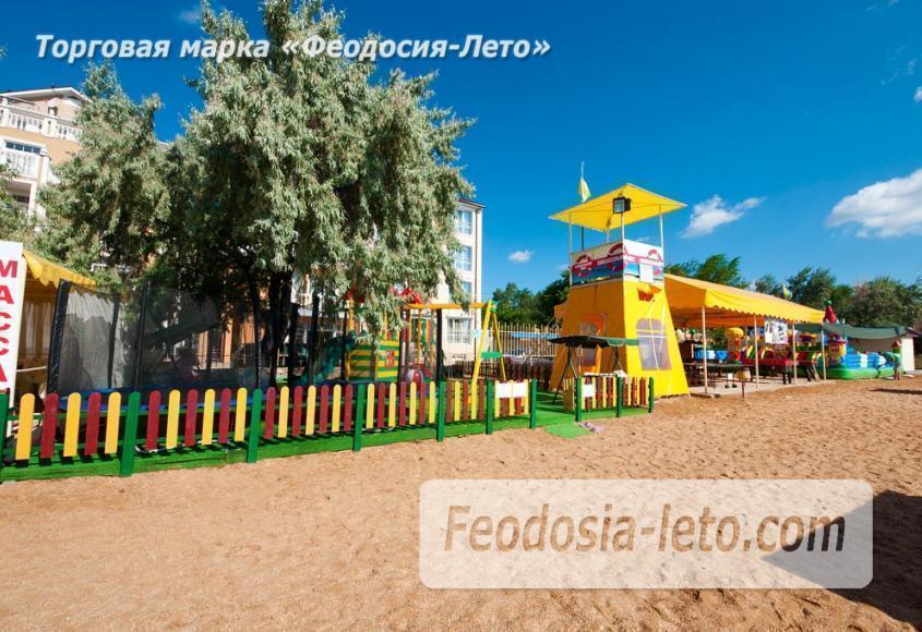 Пляж Жемчужный в Феодосии - фотография № 8
