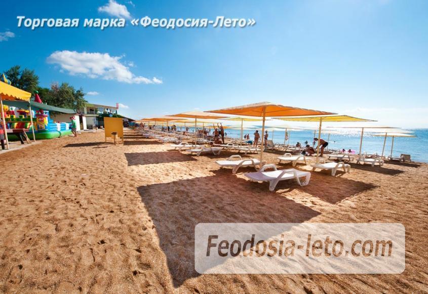 Пляж Жемчужный в Феодосии - фотография № 9