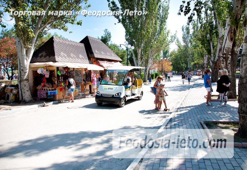 Экскурсии по городу Феодосия на электромобилях - фотография № 10