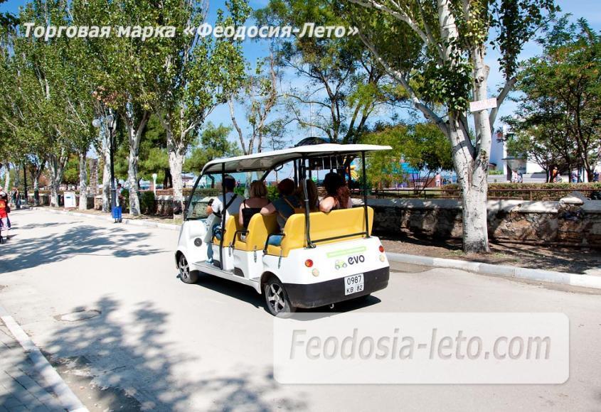 Экскурсии по городу Феодосия на электромобилях - фотография № 11