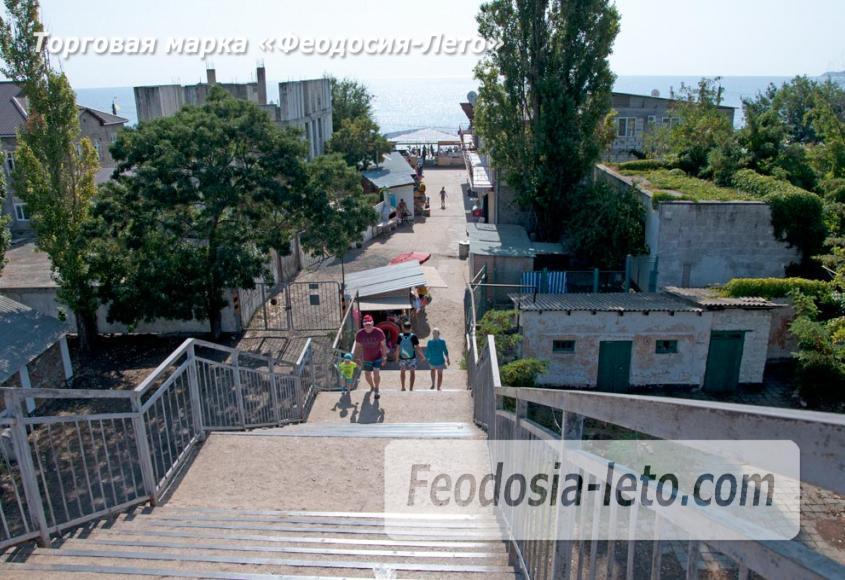 Мост в Феодосии на станции Айвазовская на пути к Черноморской набережной и пляжу - фотография № 11
