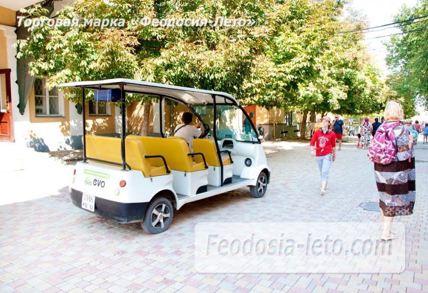 Экскурсии по городу Феодосия на электромобилях - фотография № 12