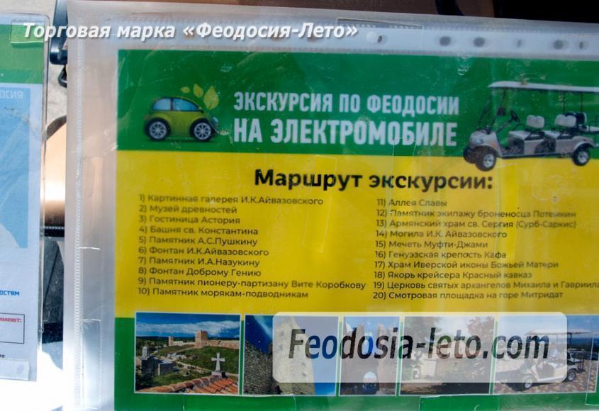 Маршруты экскурсий по Феодосии на электромобиле - фотография № 3