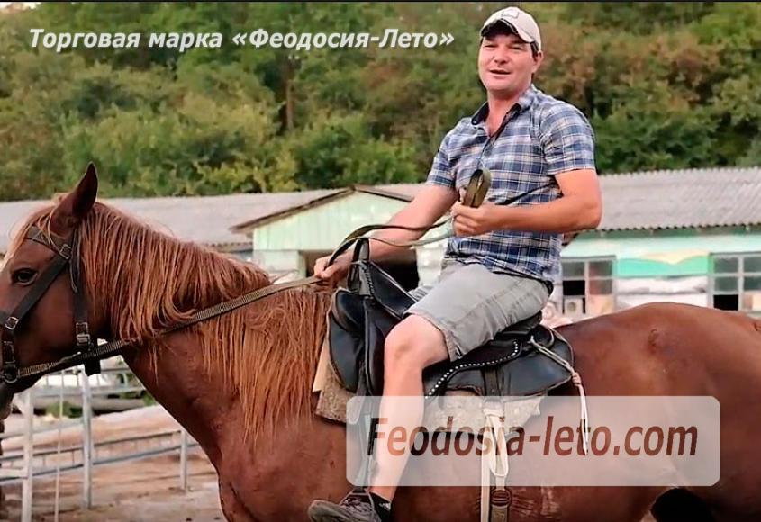 Конные прогулки в Феодосии - фотография № 6