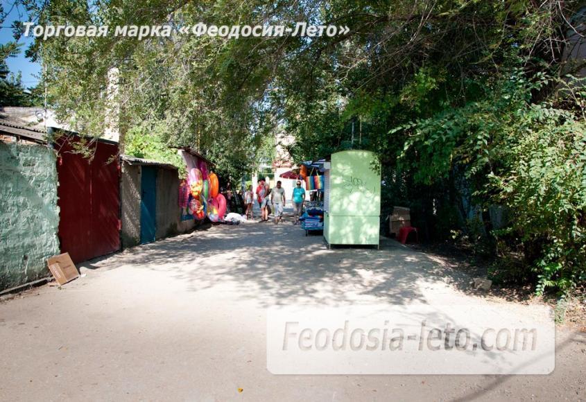 Мост в Феодосии на станции Айвазовская на пути к Черноморской набережной и пляжу - фотография № 4