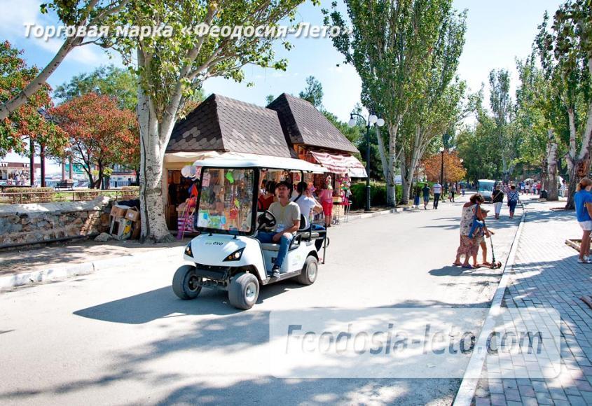 Экскурсии по городу Феодосия на электромобилях - фотография № 6