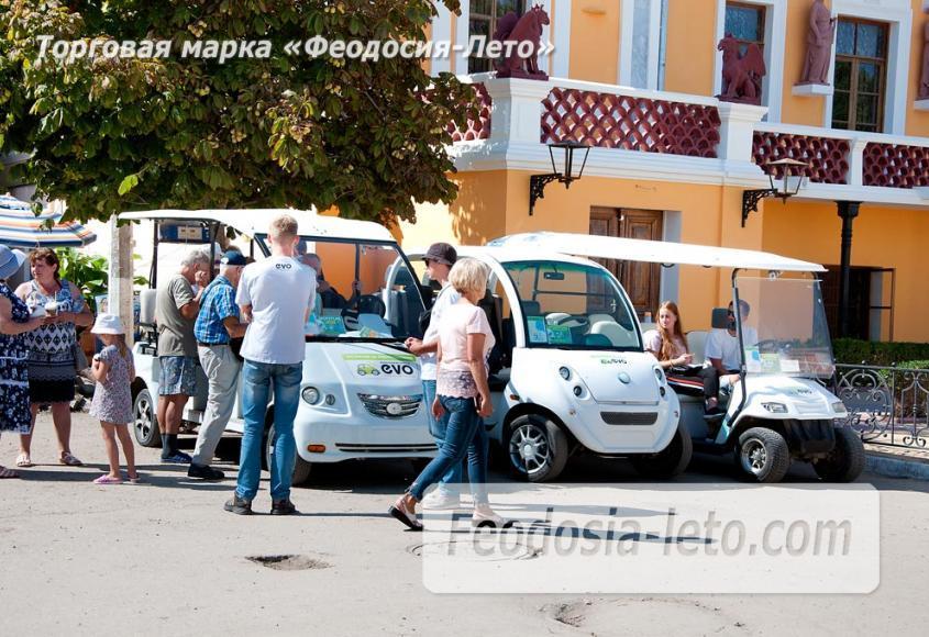 Экскурсии по городу Феодосия на электромобилях - фотография № 7