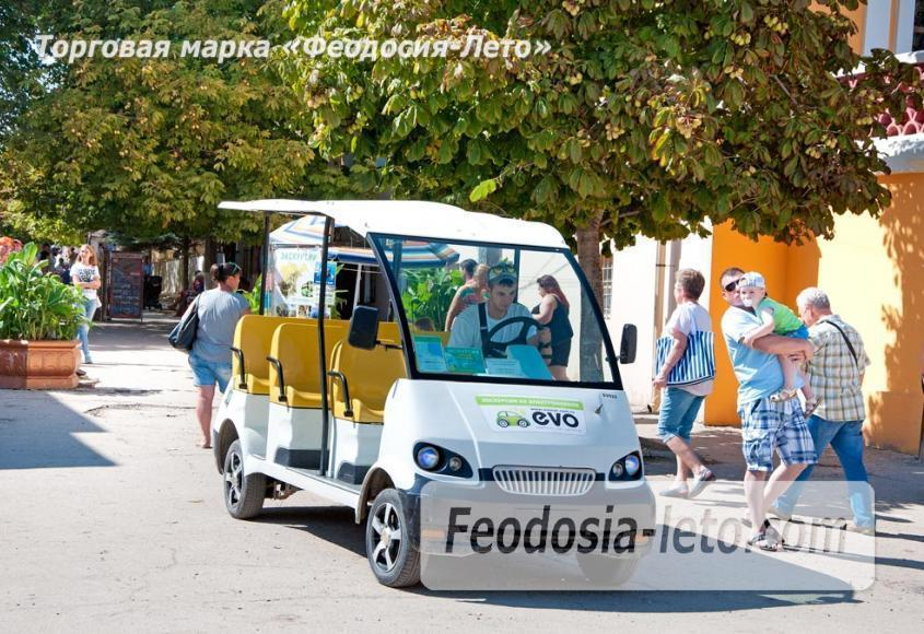Экскурсии по городу Феодосия на электромобилях - фотография № 8