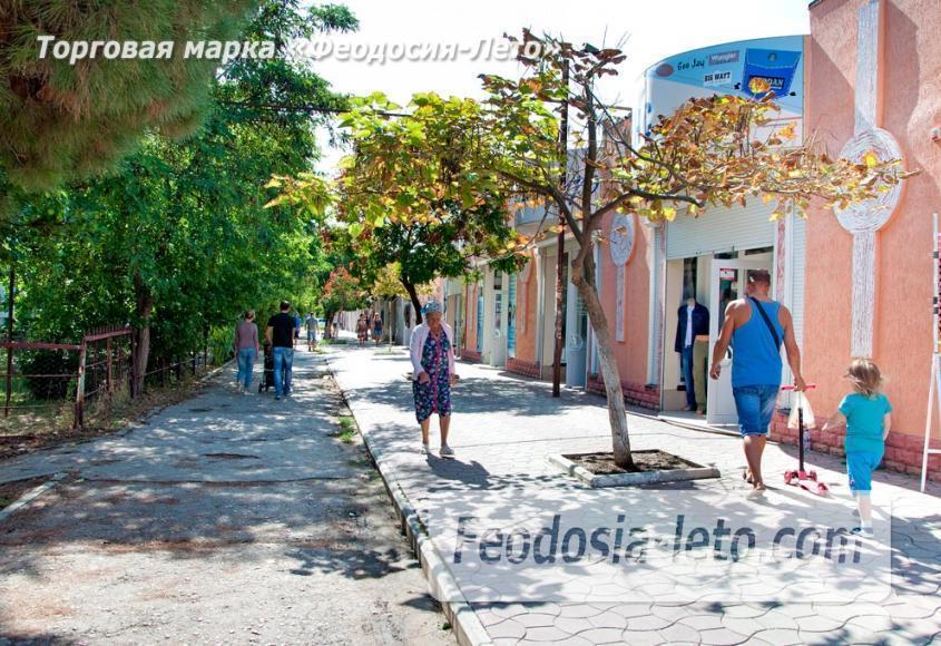 Районы Феодосии: бульвар Старшинова и улица Крымская - фотография № 5